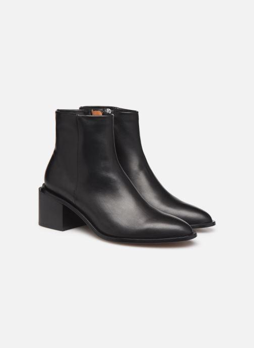 Bottines et boots Clergerie Xenia Noir vue 3/4