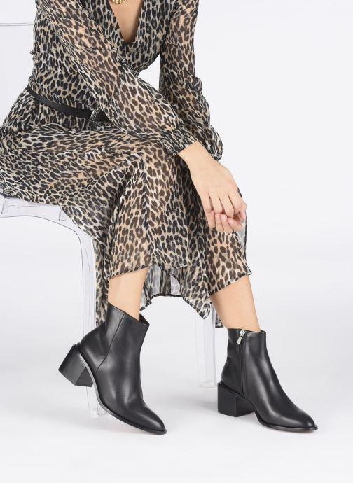 Bottines et boots Clergerie Xenia Noir vue bas / vue portée sac