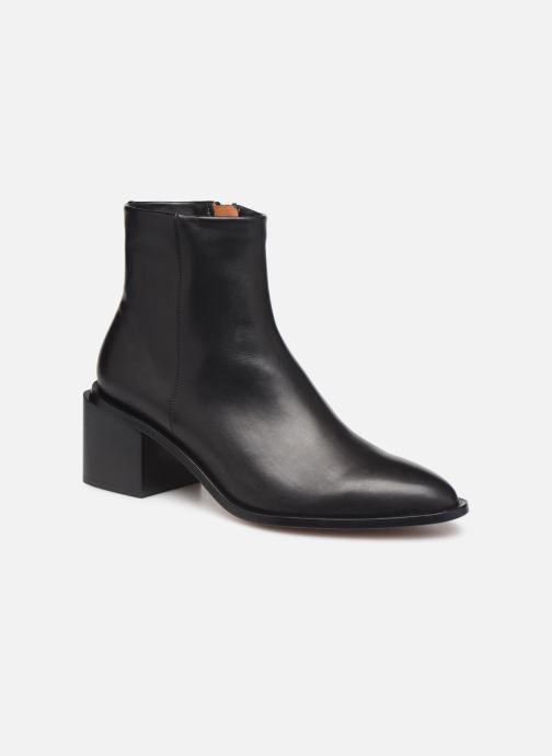 Bottines et boots Clergerie Xenia Noir vue détail/paire