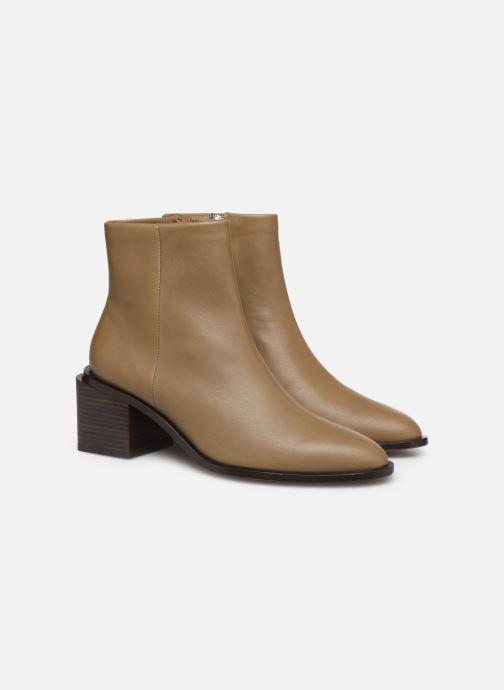 Bottines et boots Clergerie Xenia Beige vue 3/4