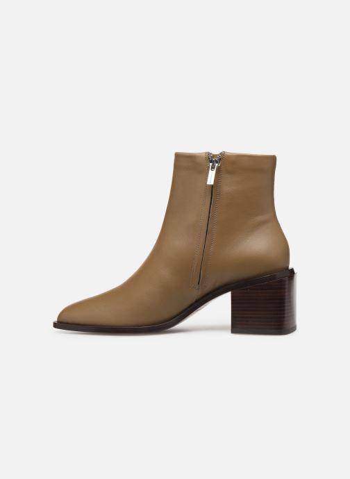 Bottines et boots Clergerie Xenia Beige vue face