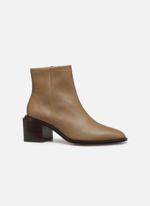 Bottines et boots Clergerie Xenia Beige vue derrière