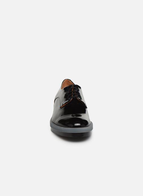 Chaussures à lacets Clergerie Roma Noir vue portées chaussures