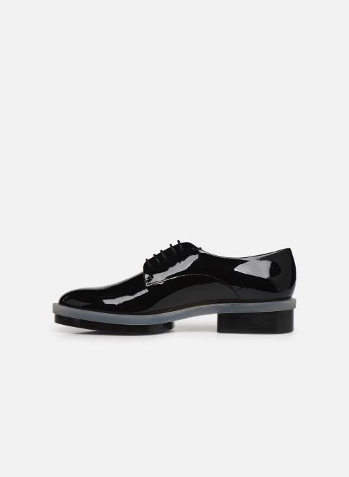 Chaussures à lacets Clergerie Roma Noir vue face