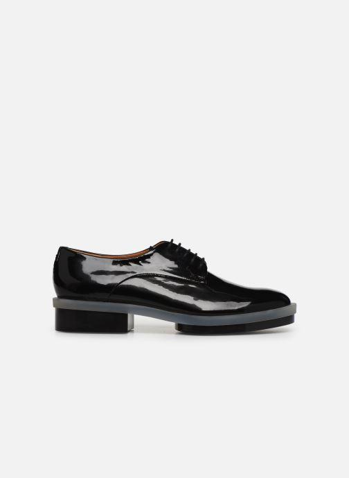 Chaussures à lacets Clergerie Roma Noir vue derrière