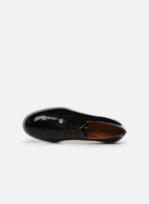 Zapatos con cordones Clergerie Roma Negro vista lateral izquierda