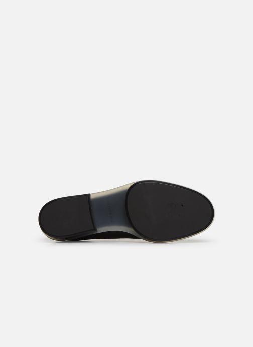 Chaussures à lacets Clergerie Roma Noir vue haut