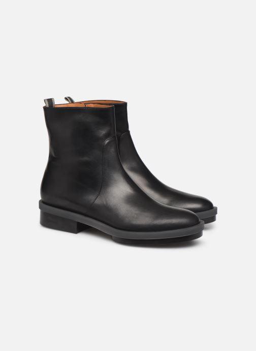 Bottines et boots Clergerie Roll Noir vue 3/4