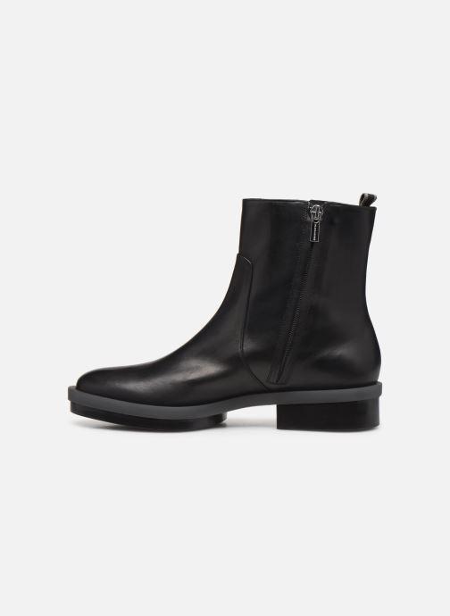 Bottines et boots Clergerie Roll Noir vue face