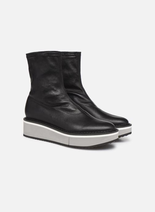 Bottines et boots Clergerie Berta Noir vue 3/4
