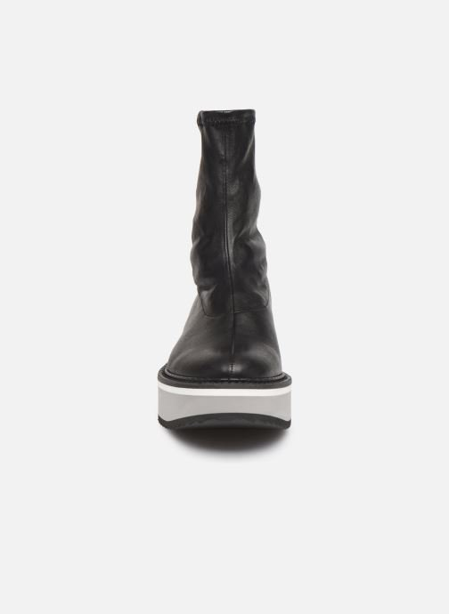Ankle boots Clergerie Berta Black model view