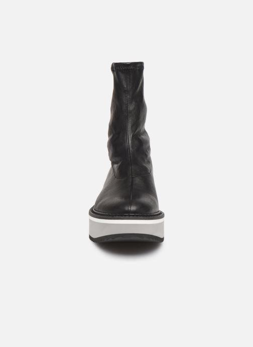 Bottines et boots Clergerie Berta Noir vue portées chaussures