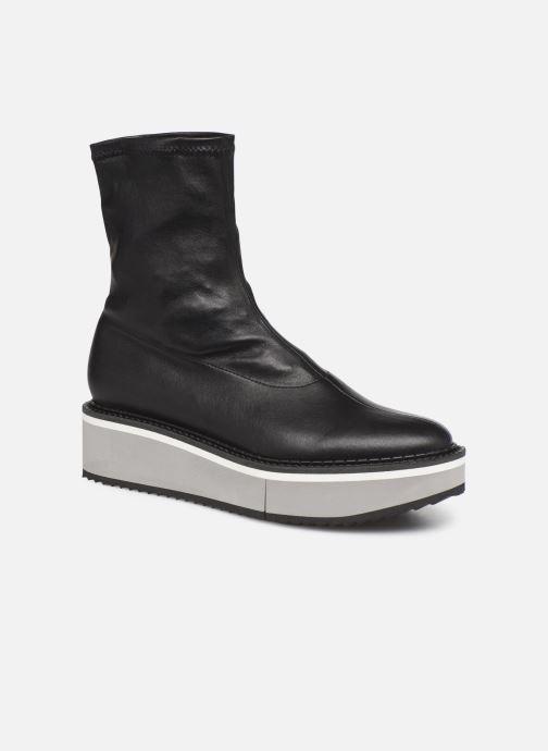 Boots en enkellaarsjes Clergerie Berta Zwart detail