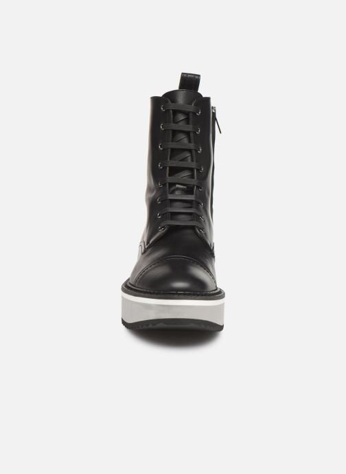 Ankle boots Clergerie British Black model view