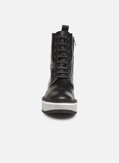 Bottines et boots Clergerie British Noir vue portées chaussures