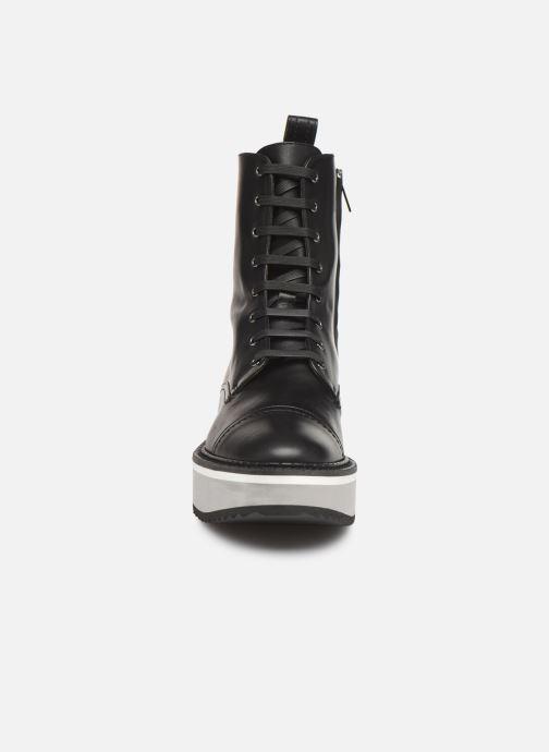 Boots en enkellaarsjes Clergerie British Zwart model