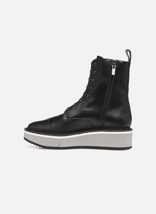 Ankle boots Clergerie British Black front view