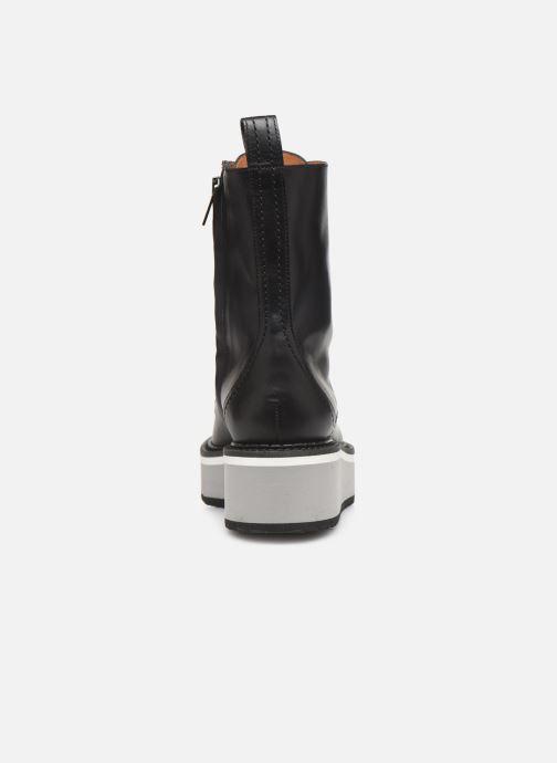 Bottines et boots Clergerie British Noir vue droite