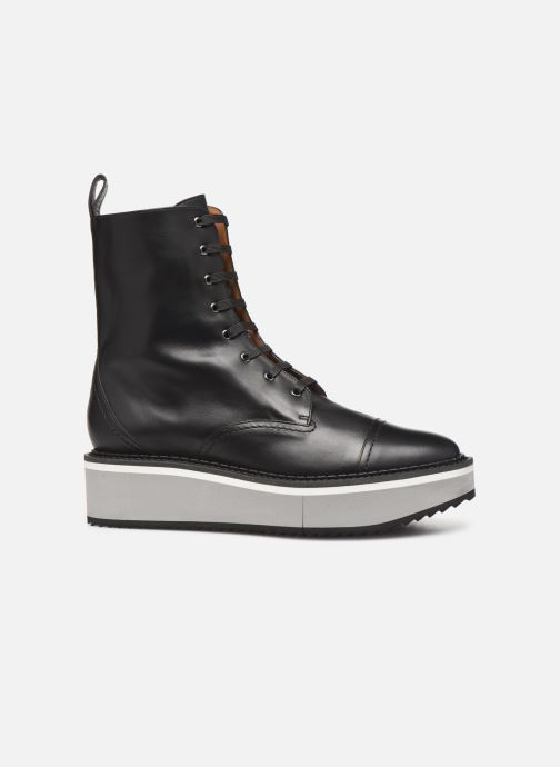 Boots en enkellaarsjes Clergerie British Zwart achterkant