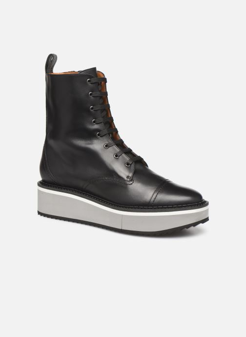Ankle boots Clergerie British Black detailed view/ Pair view