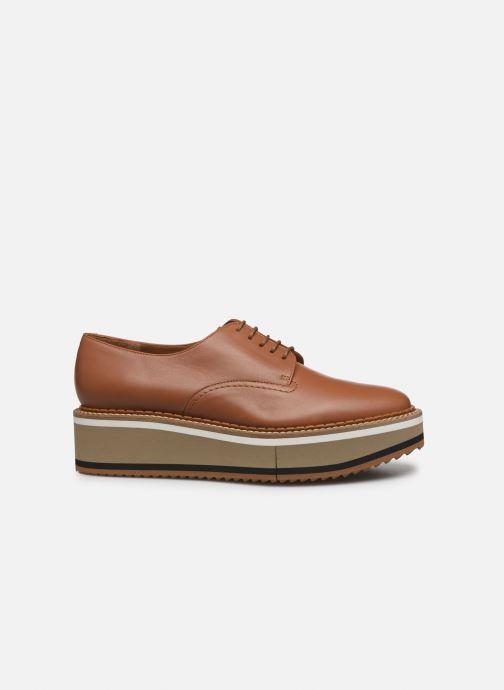 Chaussures à lacets Clergerie Berlin Marron vue derrière