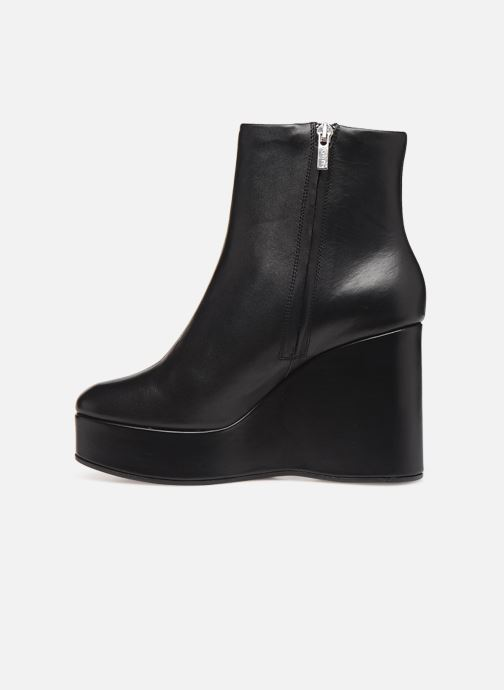 Ankle boots Clergerie Belen2 Black front view
