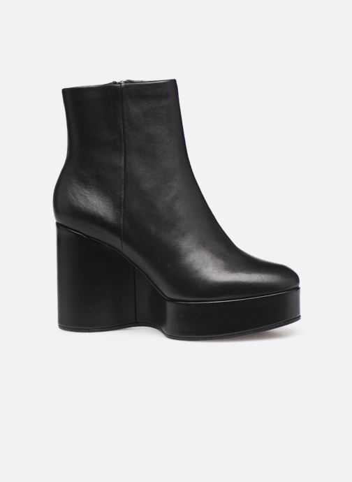Ankle boots Clergerie Belen2 Black back view