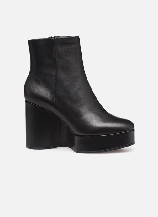 Bottines et boots Clergerie Belen2 Noir vue derrière
