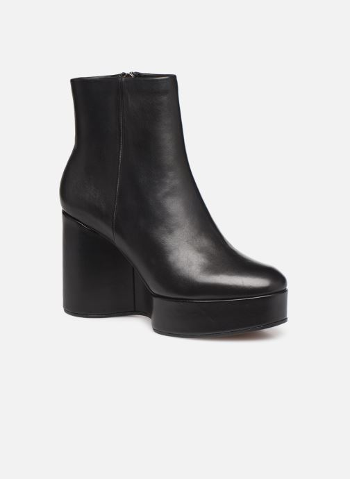 Ankle boots Clergerie Belen2 Black detailed view/ Pair view