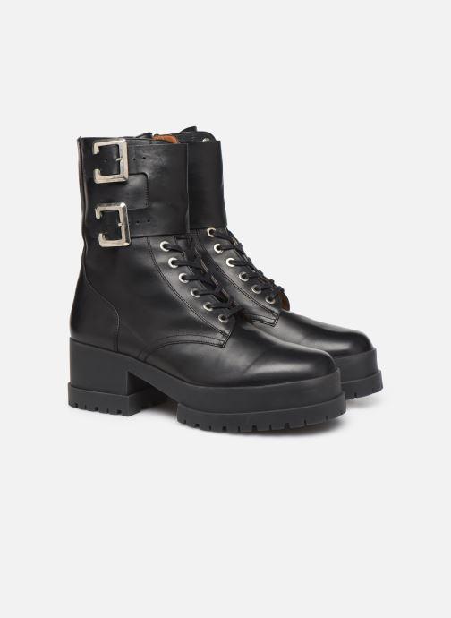 Bottines et boots Clergerie Willy2 Noir vue 3/4