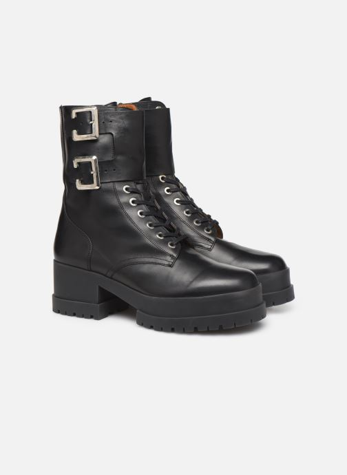 Bottines et boots Clergerie Willy2 Noir vue 3/4