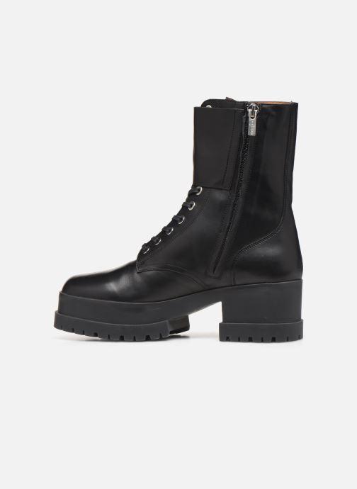 Bottines et boots Clergerie Willy2 Noir vue face