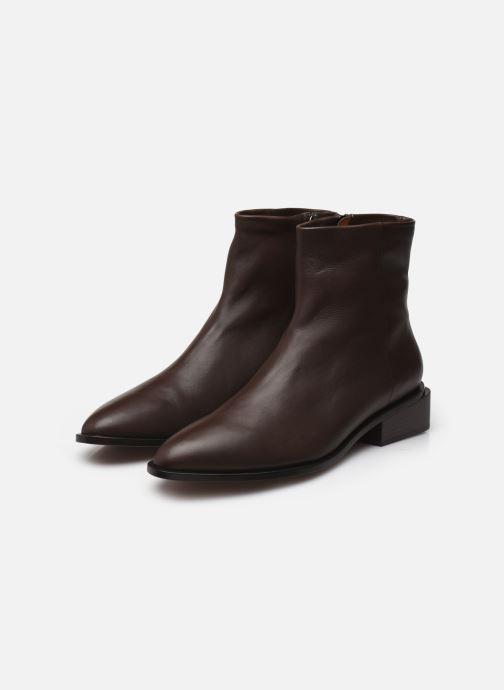 Bottines et boots Clergerie Xenon Marron vue bas / vue portée sac