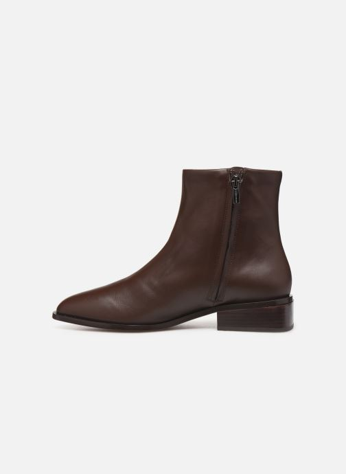 Ankle boots Clergerie Xenon Brown front view