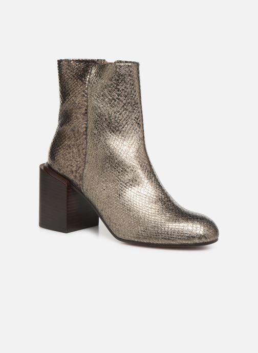 Bottines et boots Clergerie Xoel Argent vue détail/paire