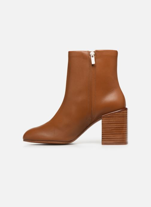 Ankle boots Clergerie Xoel Brown front view