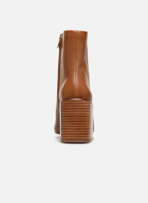 Ankle boots Clergerie Xoel Brown view from the right