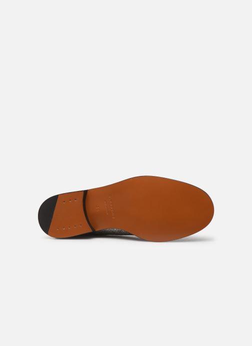 Chaussures à lacets Clergerie Rosie Argent vue haut