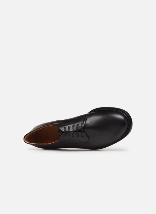 Zapatos con cordones Clergerie Rosie Negro vista lateral izquierda