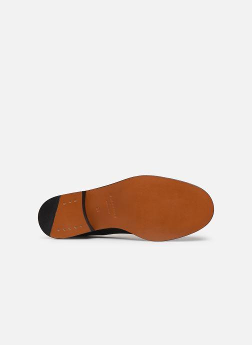 Chaussures à lacets Clergerie Rosie Noir vue haut