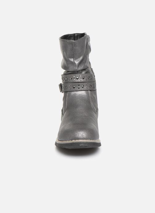 Bottes I Love Shoes THELLEA Gris vue portées chaussures