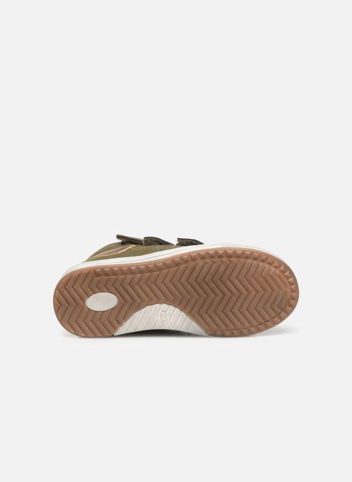 Baskets I Love Shoes THRENDON Vert vue haut
