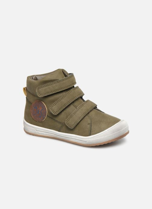 Baskets I Love Shoes THRENDON Vert vue détail/paire