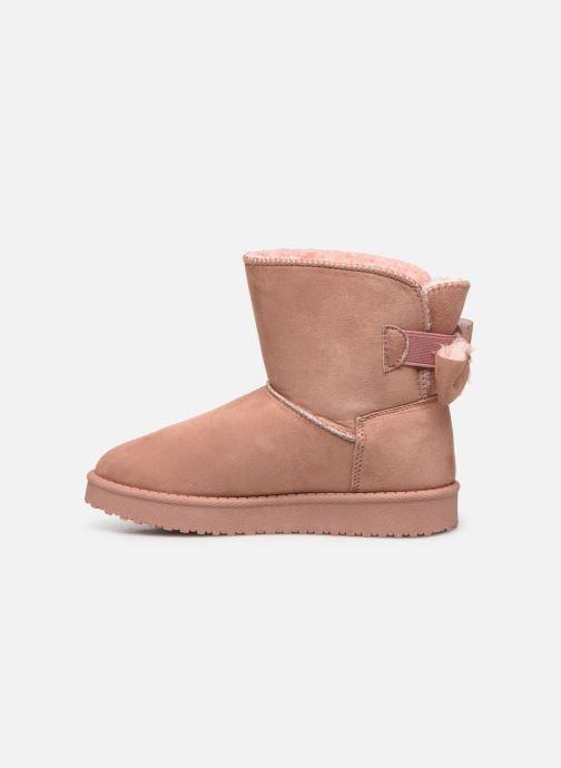 Botas I Love Shoes THICHIBO Rosa vista de frente