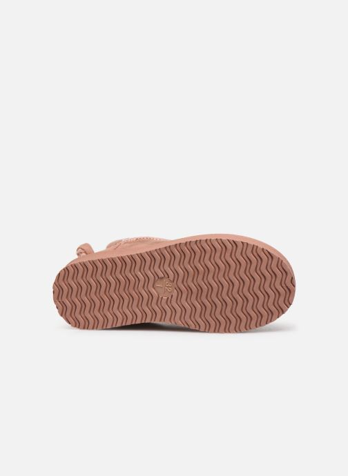 Bottes I Love Shoes THICHIBO Rose vue haut