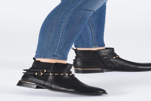 Botines  I Love Shoes THARIELLE Negro vista de abajo