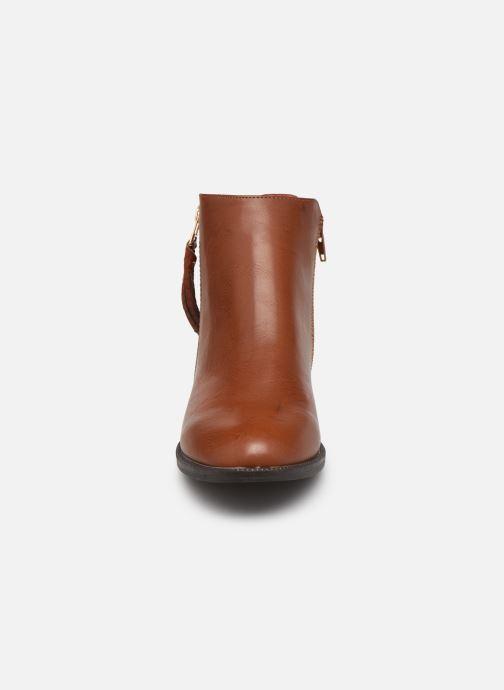 Bottines et boots I Love Shoes THALUNO Marron vue portées chaussures