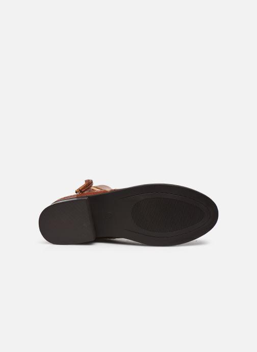 Bottines et boots I Love Shoes THALUNO Marron vue haut