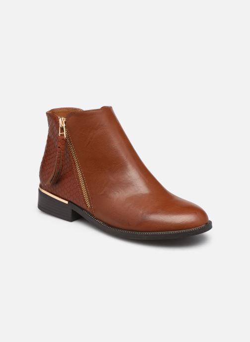 Bottines et boots I Love Shoes THALUNO Marron vue détail/paire