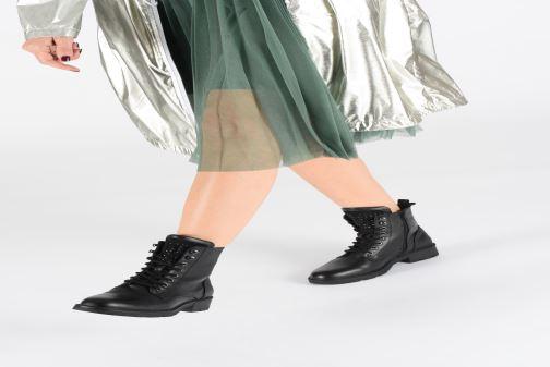 Bottines et boots I Love Shoes THALANNIS Noir vue bas / vue portée sac